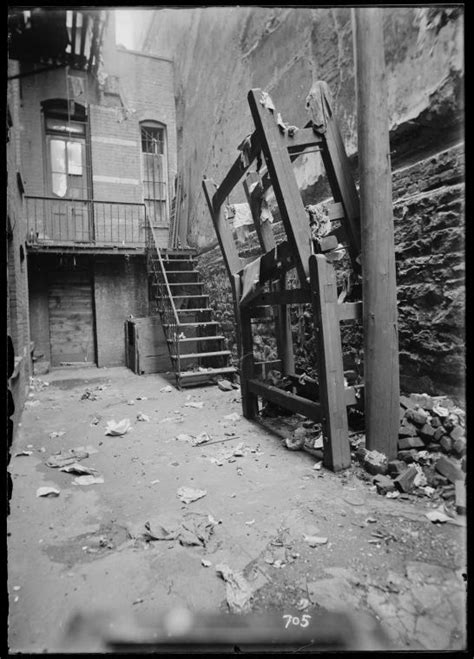Photographs Of Tenement Houses On Orchard Street, New York