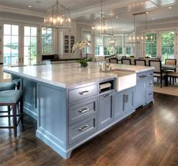 large kitchen islands interior design ideas home bunch interior design ideas