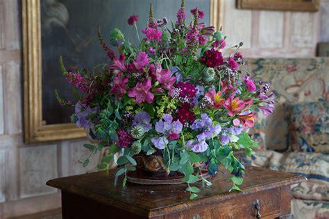 Garden Flower Arrangements Doddington Place Gardens 187 Parham S Glorious Flower Arrangements Worthy Of Downton