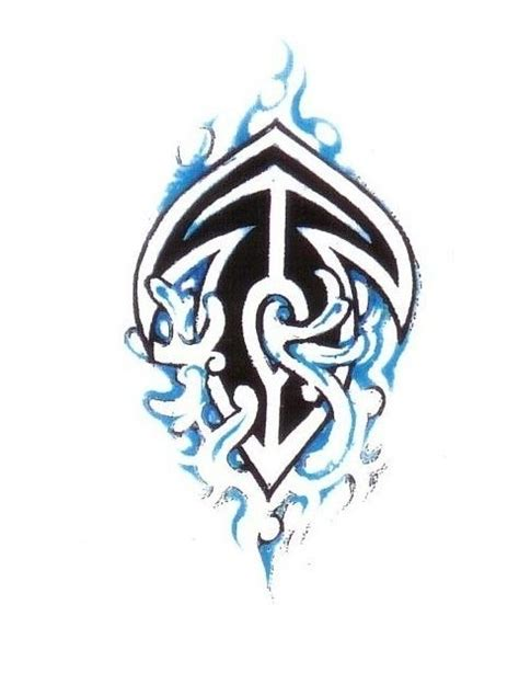 tribal anchor tattoo designs 20 tribal water tattoos