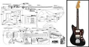 Fender Jaguar Plans Saplans Electric Archtop Guitar Plans Guide