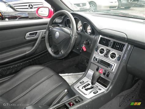 Mercedes Slk 230 Interior by 2002 Mercedes Slk 230 Kompressor Roadster Interior