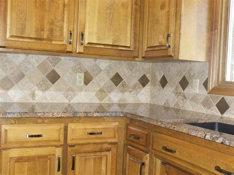 small tile backsplash in kitchen wonderful brown modern rustic design tile flooring kitchen