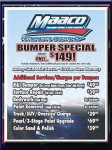 Car Paint Deals Specials Maaco Auto Painting Gainesville