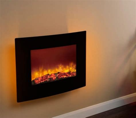 modern electric wall fires be modern quattro led wall hung electric black