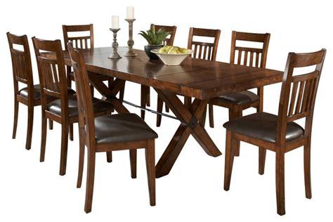 10 piece dining room set homelegance vasquez 10 piece extension dining room set