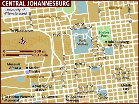 africa map johannesburg map of johannesburg