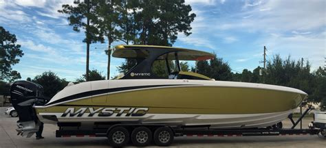 baja boats for sale perth szolack strikes gold with new mystic 4200 center console