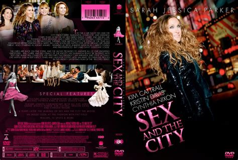 And The City The On Dvd by And The City Dvd Custom Covers Satc Single