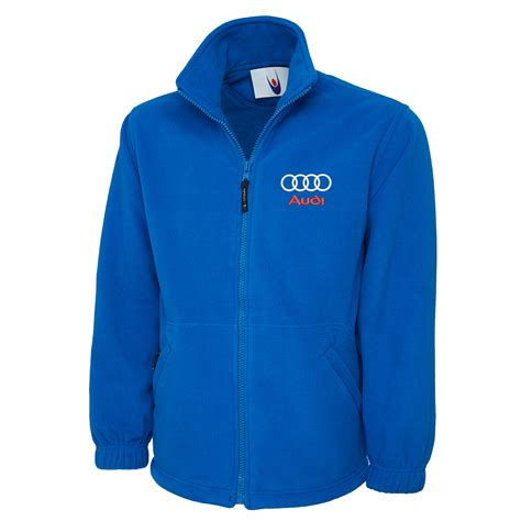 Audi Arbeitskleidung by Embroidered Audi Logo Fleece Jacket Workwear Uniform Audi