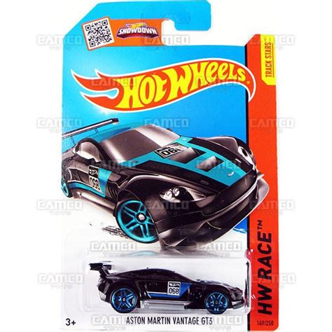 Aston Martin Vantage Gt3 Black Hitam Hotwheels Hw 2015 149 Race Track buy 2015 wheels basic mainline cars camco toys