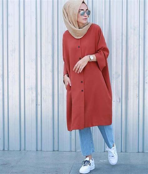 Baju Santai Monokrom til gaya dengan inspirasi baju muslim modern