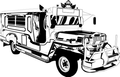 philippine jeep drawing jeepney by nathandalud on deviantart