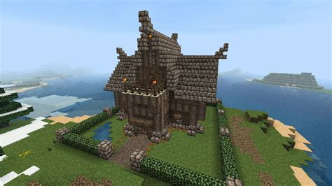 Basement Master Bedroom medieval house minecraft project