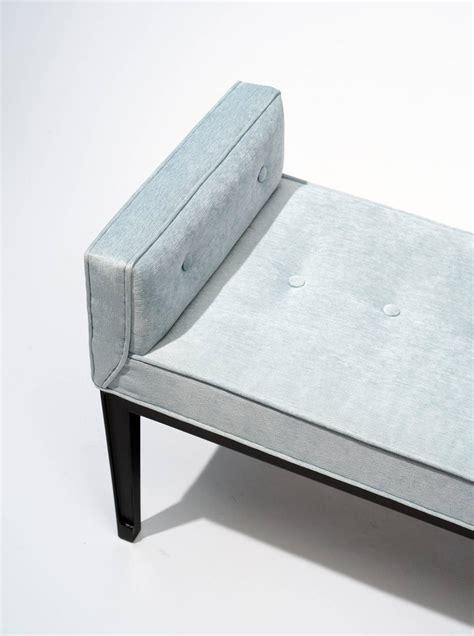modern upholstered bench mid century modern upholstered bench 1950s at 1stdibs