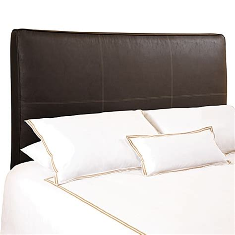 distressed leather headboard buy backdrop avalon chocolate distressed faux leather