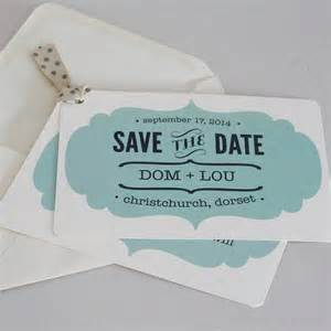 vintage style wedding save the date card by lou brown designs notonthehighstreet