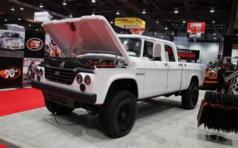 icon 4x4 truck icon dodge d200 pickup 2012 sema auto show motor trend