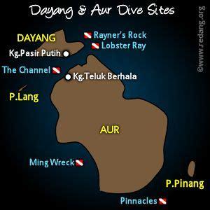 dayang resort map dayang 2002 trip diary travel log diving dayang and aur