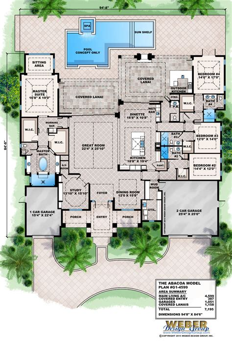 florida house plans modern stock florida home
