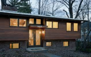 Ideas For Ranch House Remodel Design House At Dusk Contemporary Exterior Dc Metro By Frank Mccarthy Architects Inc