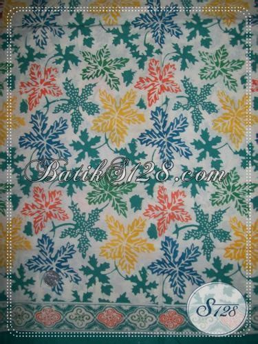 Batik Hem Anak Sabrina Daun batik motif daun pepaya warna hijau k1222cd toko batik