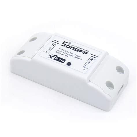 Sonoff Iot Remote Wifi Wireless Smart Switch For Smart Home sonoff basic wifi remote smart switch mqtt itead