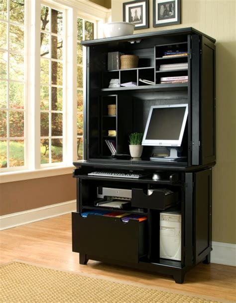 black desk armoire office furniture mission furniture craftsman furniture