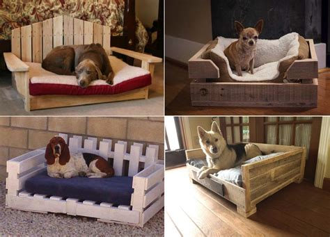 diy dog bed using wooden pallets find fun art projects