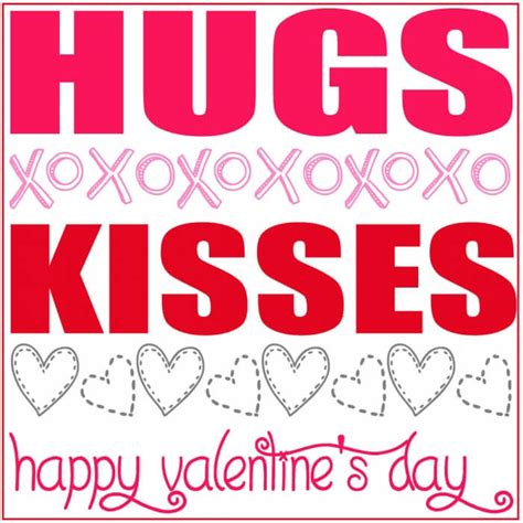 Valentines Kisses by Valentines Hugs And Kisses Gift