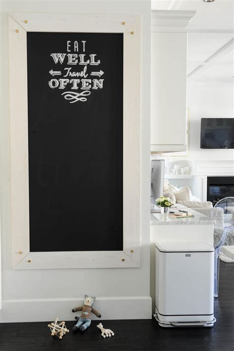 tableau noir pour cuisine visite une maison chic et raffin 233 e cocon de d 233 coration