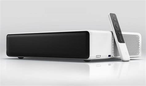 Proyektor Laser Xiaomi xiaomi mi laser projector offers 150 inch projection has 4 built in speakers