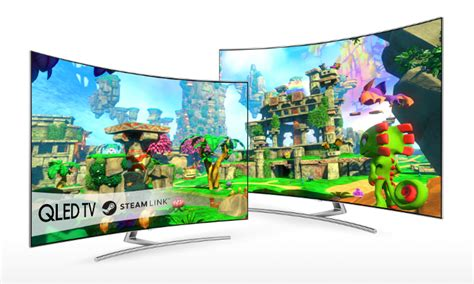 steam link gaming officially comes to samsung smart tvs iot gadgets