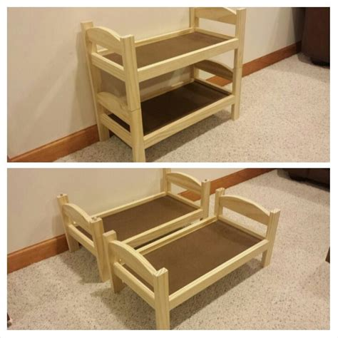 how to make a doll bed best 25 doll bunk beds ideas on pinterest diy doll bed