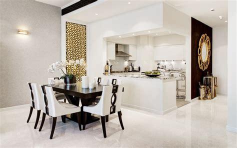 Dining Rooms Dubai by Tiara Residences Palm Jumeirah Dubai