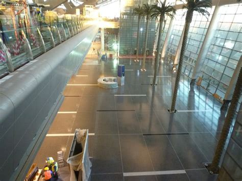 qatar international airport terrazzo floor project used bio solv exclusively for clean up