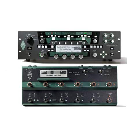 Rack Profiler by Kemper Profiler Rack Profiler Remote Set