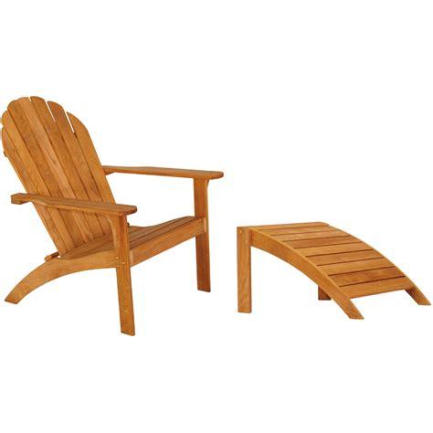 teak wood footstool three birds casual adirondack chair and footstool teak