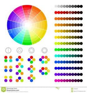 color con z rueda de color con la sombra de colores armon 237 a color