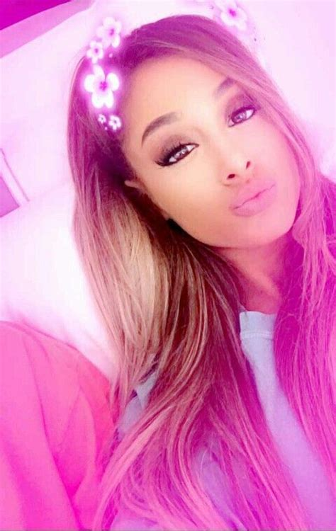 Ariana Pms | 46 best ariana grande snapchat images on pinterest