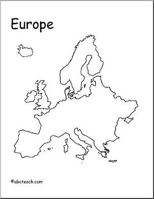 map of europe drawing at getdrawings.com | free for