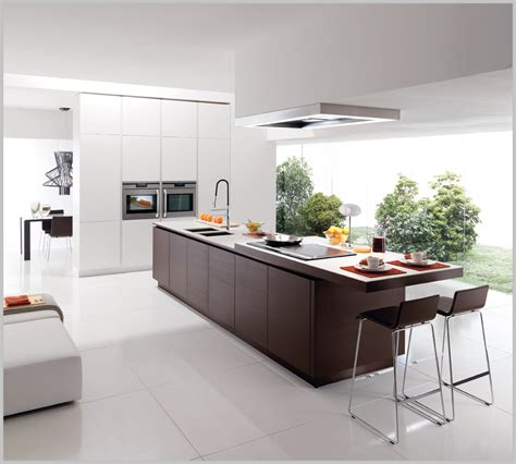 In A Kitchen by Modern Minimalist Kitchen Design Classic Elegance