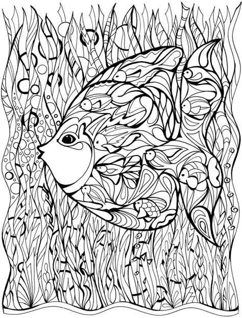 nature scapes coloring pages welcome to dover publications malebog pinterest