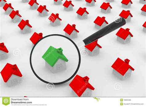 find houses house search royalty free stock photo image 18933495