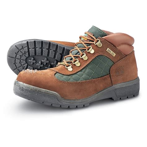 timberland tex boots s timberland 174 tex 174 field boots brown green