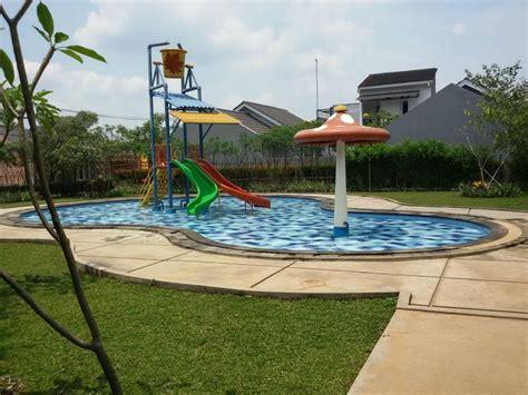 Kolam Renang Untuk Anak Model Kudanil Pool Pancuran dibanderol rp600 jutaan 6 perumahan di depok punya kolam renang rumah dan gaya hidup rumah