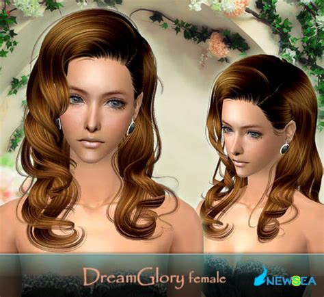 the sims 2 downloads fringe hairstyles newsea sims2 hair j032f dreamglory
