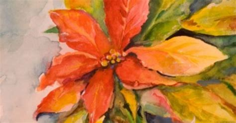 google images poinsettia poinsettia christmas flower painting by delilah smith