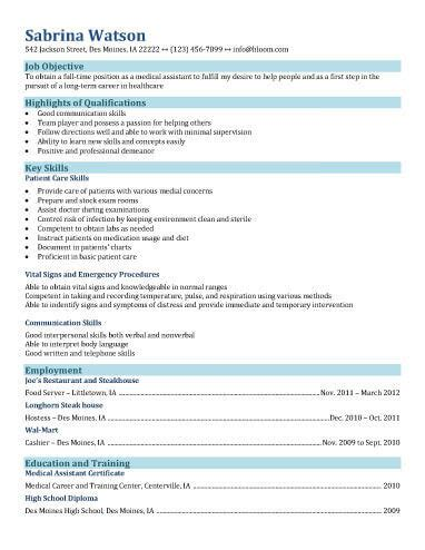 Medical Scribe Resume Sample by 16 Free Medical Assistant Resume Templates
