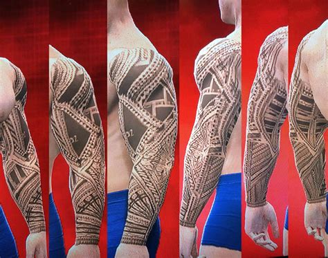the usos tattoo pics for gt jimmy uso